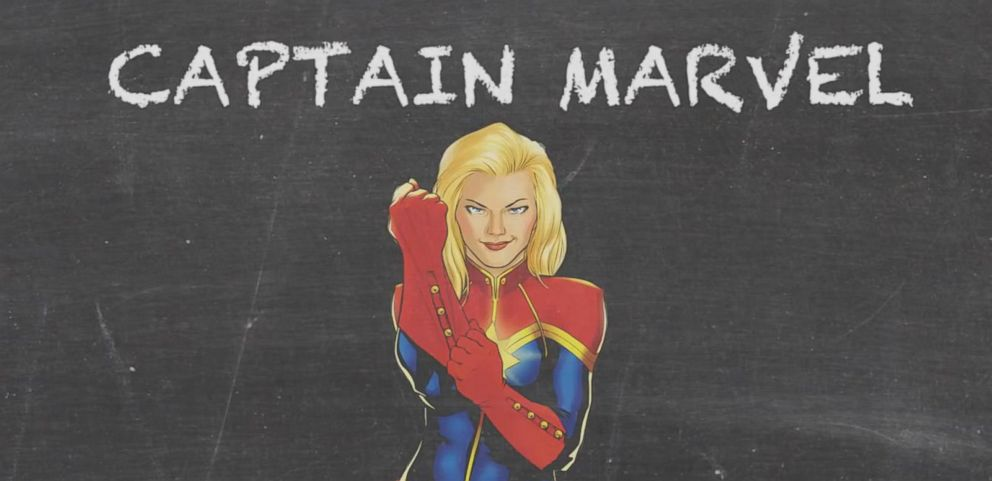 VIDEO: Air Force Officer Carol Danvers Captain Marvel MARVEL 101