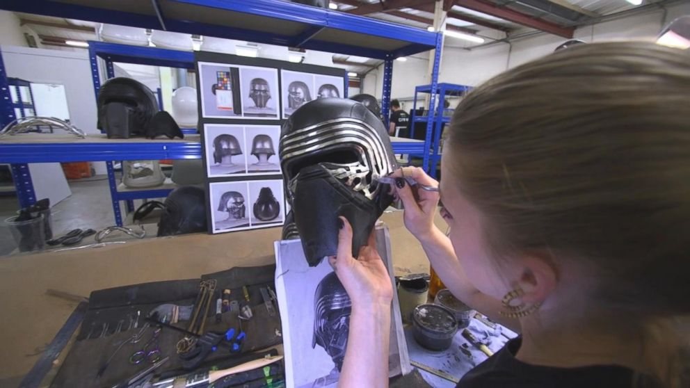 Inside the Studio That Makes Star Wars Props