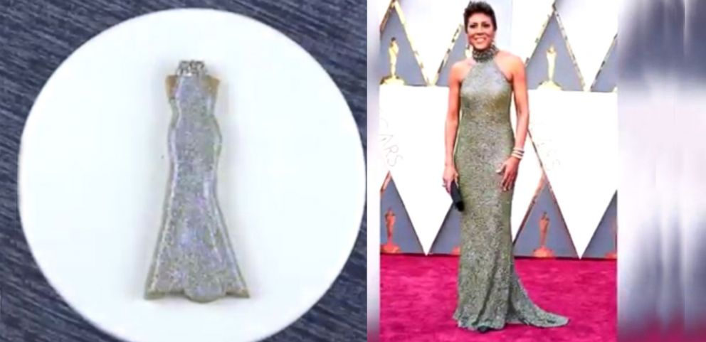 VIDEO: YouTuber Turns Celebs Oscars Dresses into Cookies