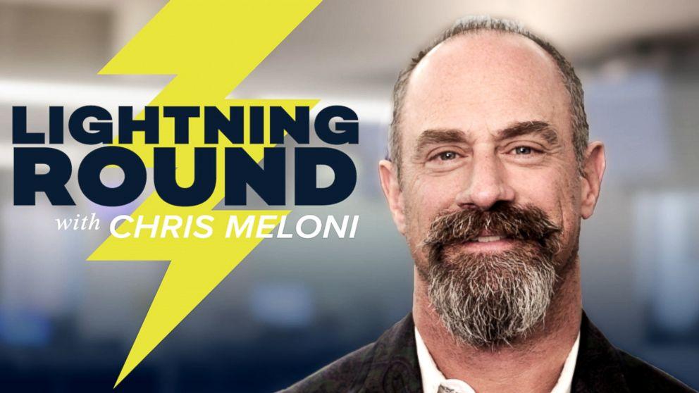 Lightning round with chris meloni video abc news for Meloni arredamenti oristano