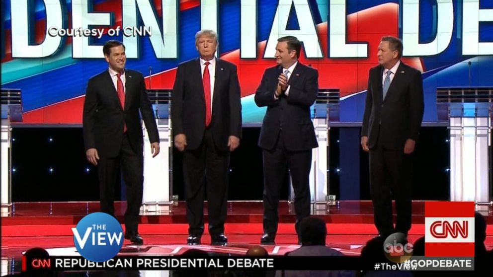 'The View' Co-Hosts on the Drama-Free GOP Debate Video ...