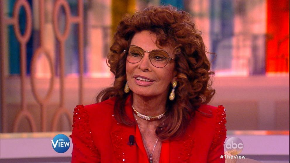 Sophia Loren Gets Candid on 'The View' Video - ABC News