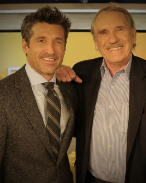 Gma Day Crowd Goes Wild For Patrick Dempsey In Times Square Gma