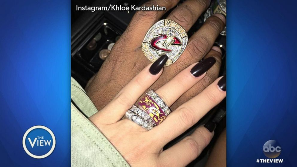 Tristan Thompson proud to be \'creating this angel\' with pregnant ...