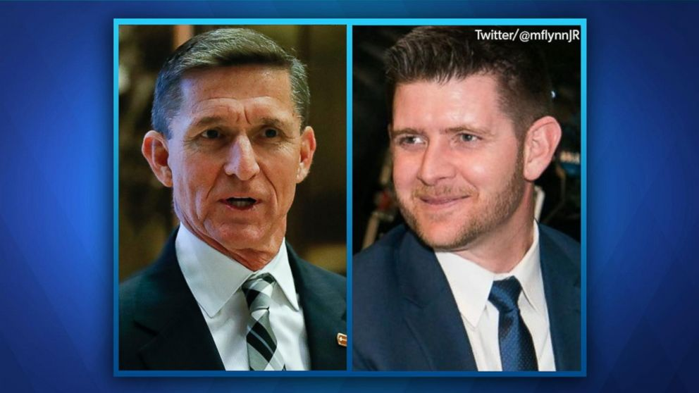 concern over tweets from michael flynn 39 s son video abc news. Black Bedroom Furniture Sets. Home Design Ideas