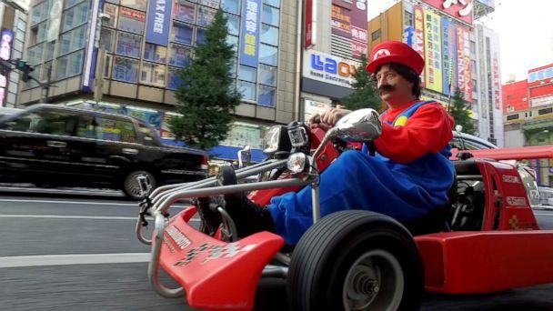 Real-Life Mario Kart Hits Tokyo Streets