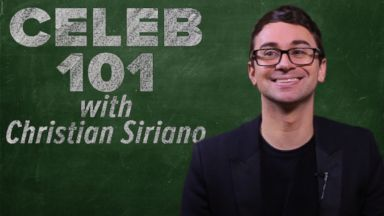 Celeb 101 with Christian Siriano