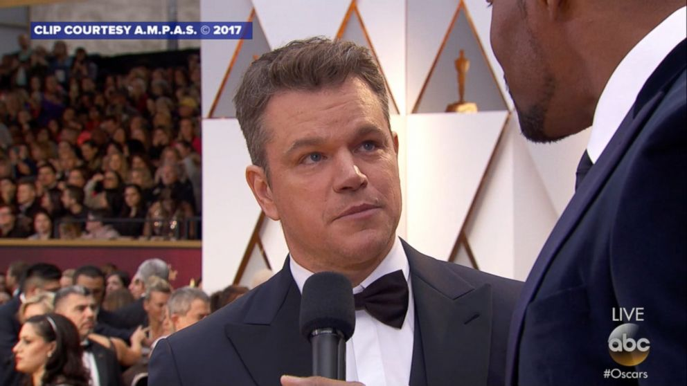 Oscar Matt Damon