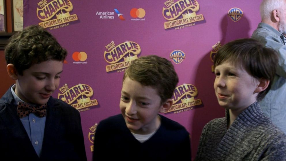charlie and the chocolate factory preparing for broadway debut  video young stars of charlie and the chocolate factory on landing their first broadway roles