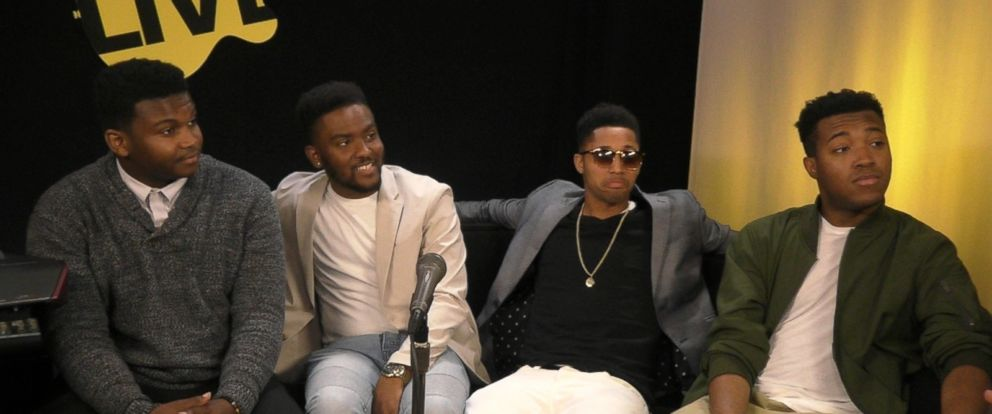 VIDEO: Philadelphia R&B group Natiive Sonz performs live