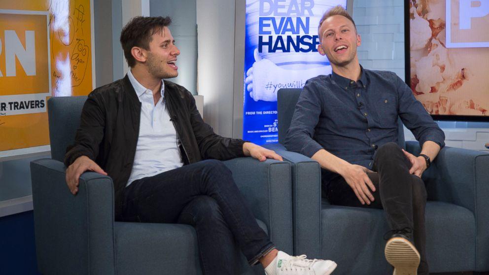 VIDEO: Dear Evan Hansen creators Benj Pasek and Justin Paul sing Waving Through a Window