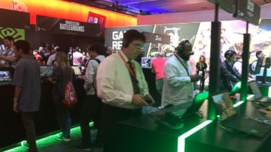 a look inside the e3 gaming expo in los angeles - is fortnite good for your brain