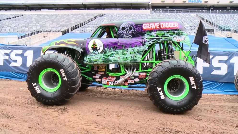 Monster Truck Grave Digger Legacy Video Abc News