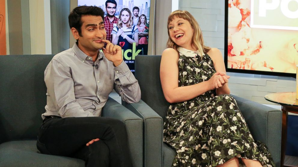 VIDEO: Kumail Nanjiani, Emily V. Gordon sing Love Is All Around from Four Weddings And A Funeral
