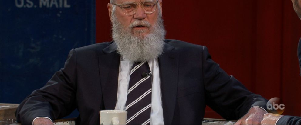 Jimmy Kimmel sat down with comedian David Letterman in his first late-night interview since he retired in 2015.