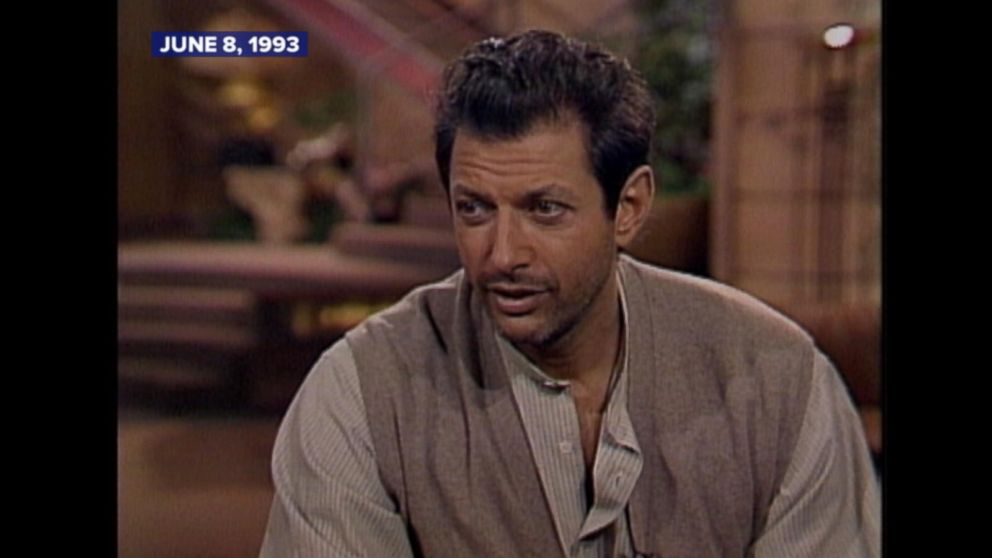 June 8, 1993: Jeff Goldblum on what it was like to film ...
