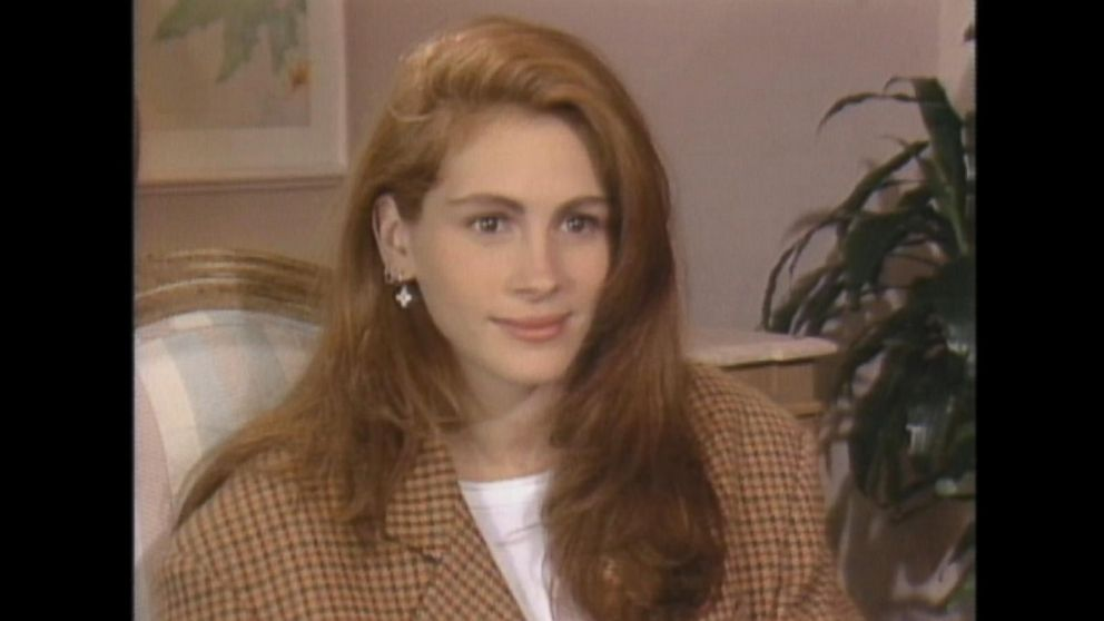 March 21, 1990: Julia Roberts on filming scenes with Richard Gere in ...