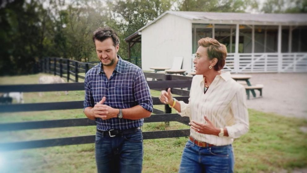 Living Every Day With Luke Bryan A Robin Roberts Special Presentation Airing Tonight At 10 9c On ABC