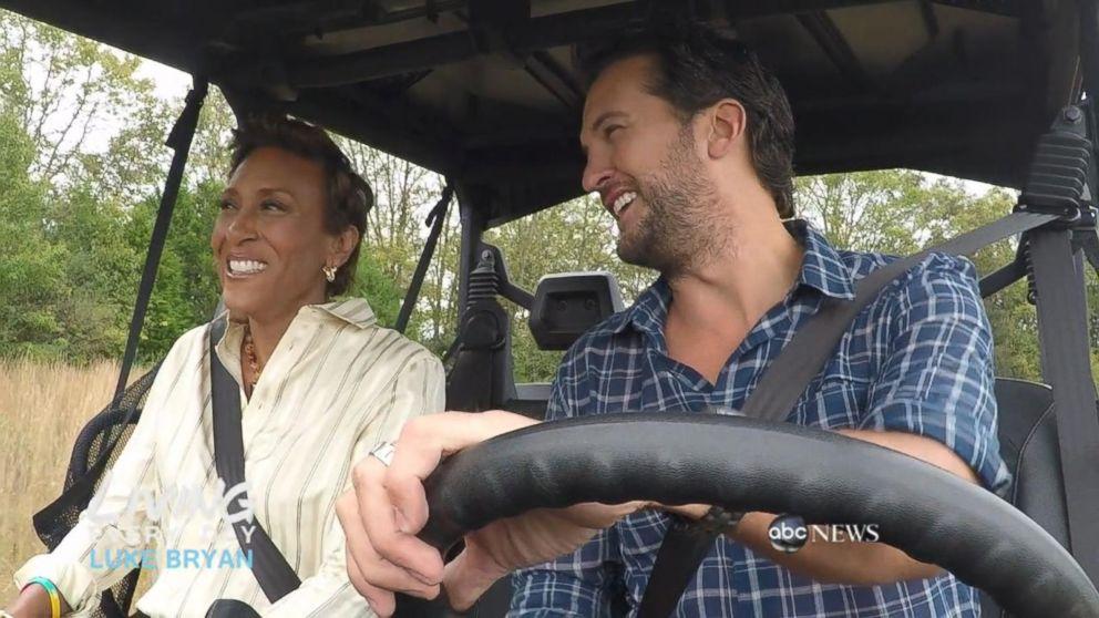Luke bryan gives robin roberts a tour of his nashville farm video buffering m4hsunfo