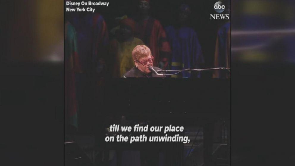 Elton John shocks Broadway 'Lion King' audience with 'Circle of Life