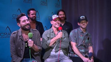 Country Music Awards Interview, Day 2: Old Dominion Video