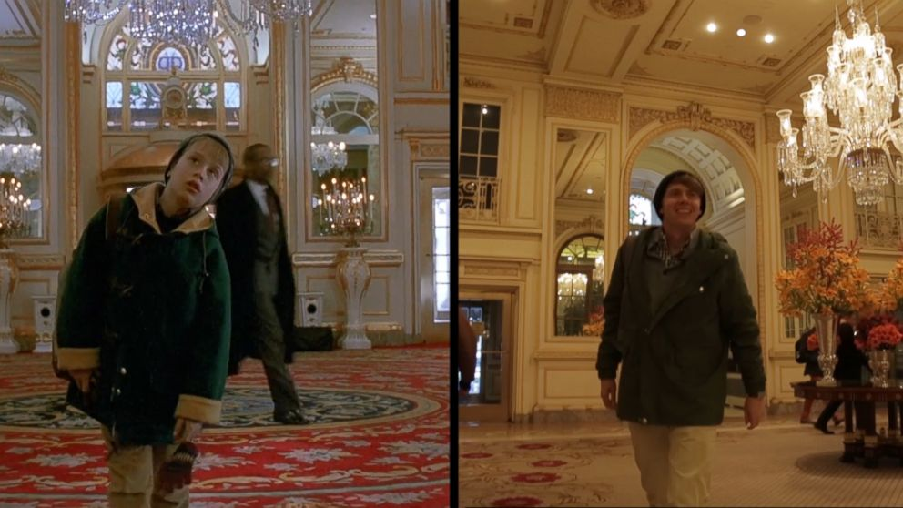 VIDEO: Reliving 'Home Alone 2' moments 25 years later
