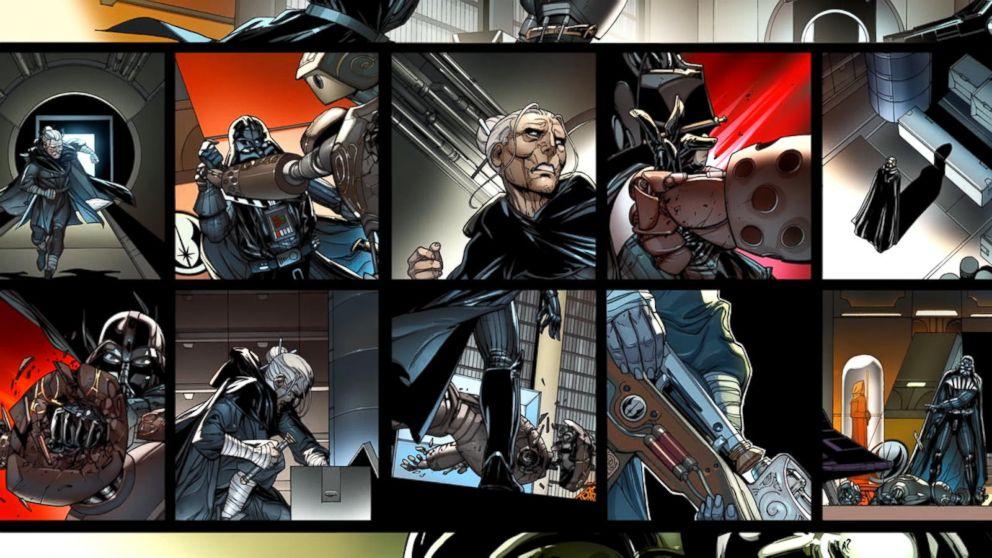 Go inside Marvel's 'Darth Vader' comics before the premiere