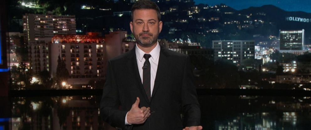 VIDEO: Jimmy Kimmel found the topic rich for attack on Monday night.
