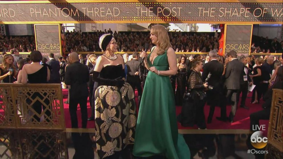 Rita Moreno recycles her Oscars dress from 1962 Video ...