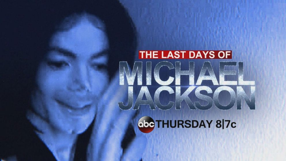 39 the last days of michael jackson 39 airs tonight at 8p 7c only on abc video abc news. Black Bedroom Furniture Sets. Home Design Ideas