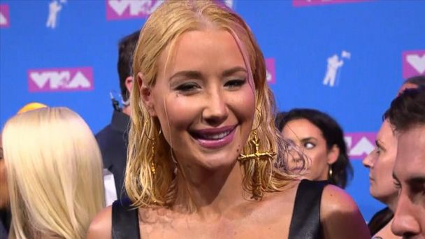 Live from the VMA red carpet: Iggy Azalea