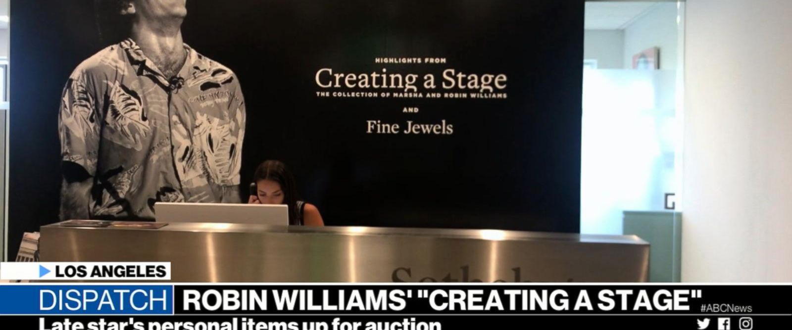 VIDEO: Items belonging to the late Robin Williams up for auction