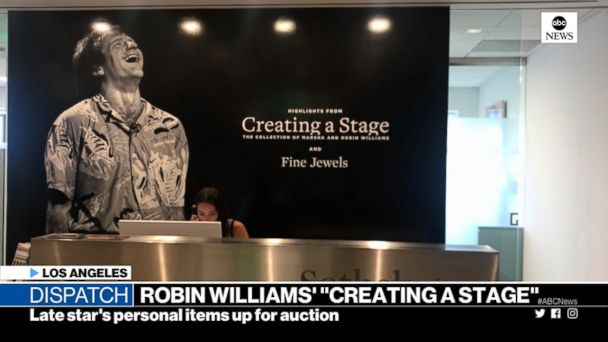 Items belonging to the late Robin Williams up for auction