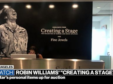 WATCH: Items belonging to the late Robin Williams up for auction