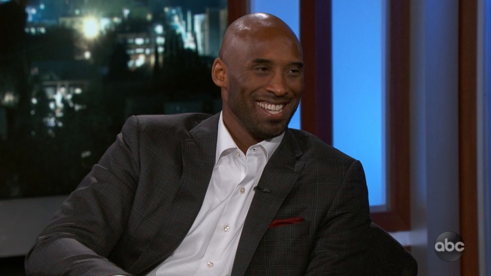 NBA legend Kobe Bryant tells Jimmy Kimmel why he kept his tap ...