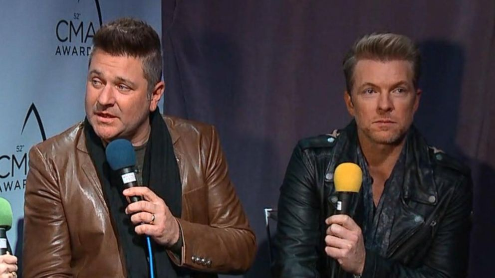 Country Music Awards Interview, Day 1: Rascal Flatts