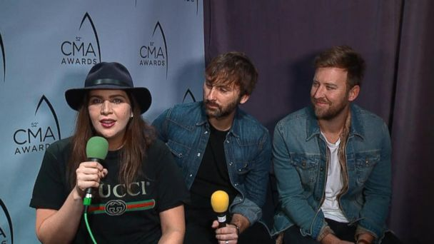 Country Music Awards Interview, Day 2: Lady Antebellum