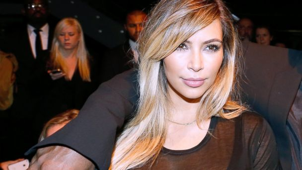 PHOTO: Kim Kardashian attends the Givenchy show as part of the Paris Fashion Week Womenswear Spring/Summer 2014, held at la Halle Freyssinet on Sept. 29, 2013 in Paris.