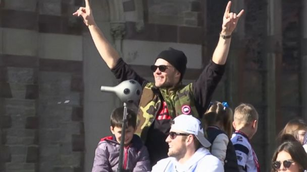 New England Patriots' Super Bowl victory parade held in Boston