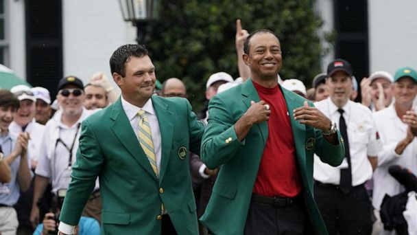 Tiger triumphs at Masters