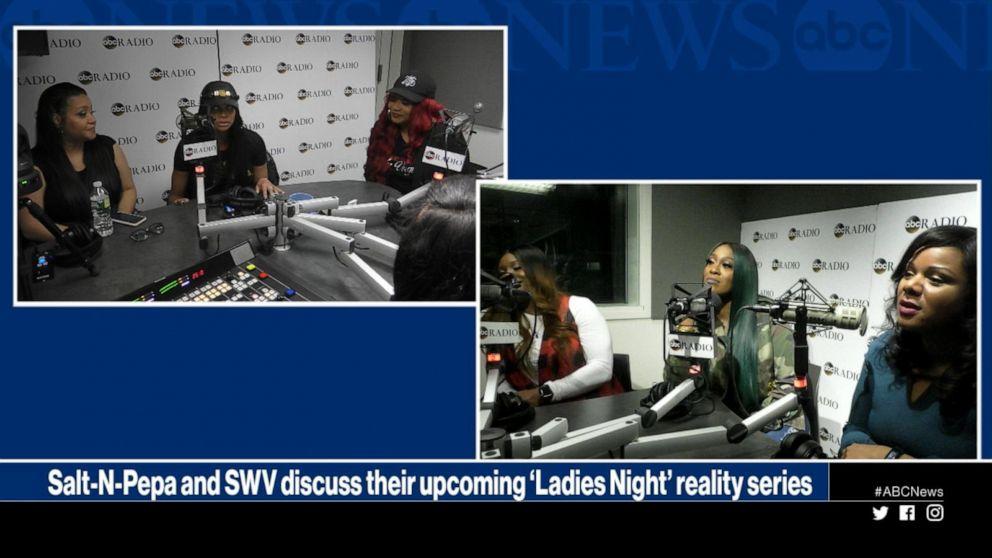 Salt-N-Pepa and SWV discuss their upcoming 'Ladies Night' reality series