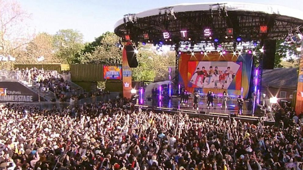 BTS kicks off summer concert series in Central Park