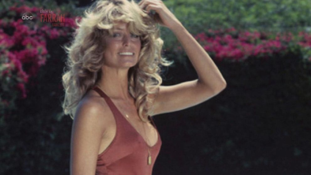 5327a700145 The story behind  Charlie s Angels  star Farrah Fawcett s steamy red  swimsuit poster that made her an icon - ABC News
