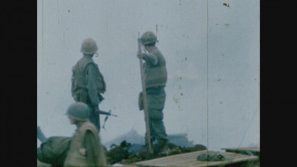 VIDEO: Vietnam vets John Kerry, Tiney Corbett Jr on how the war changed their views