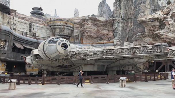 New 'Star Wars' theme park transports fans to a galaxy far, far away