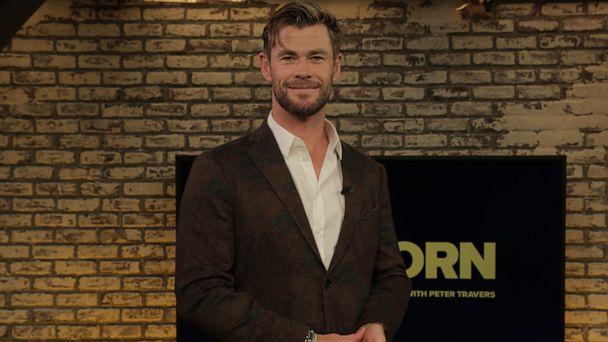 Chris Hemsworth talks new 'Men in Black: International' movie, co-star Tessa Thompson