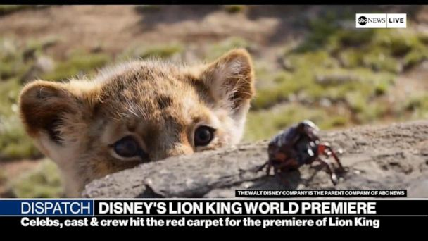 Disney's 'Lion King' world premiere in Hollywood