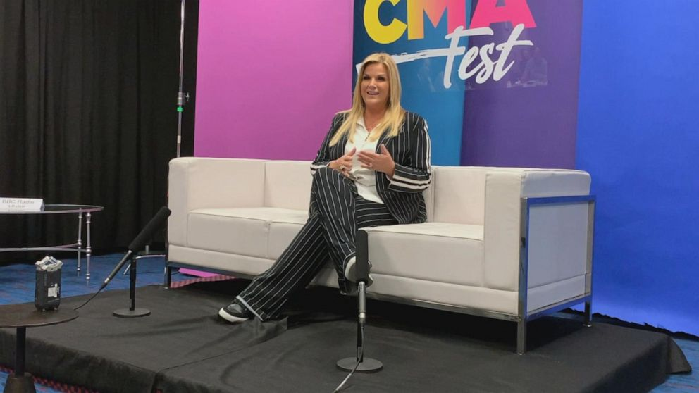 Trisha Yearwood talks about debuting her new hit at CMA Fest