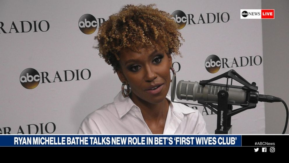 Ryan Michelle Bathe discusses her role in BET's 'First Wives Club'