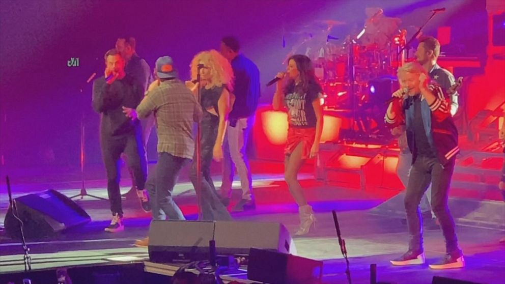 Thomas Rhett and Little Big Town do 'Don't Threaten Me with a Good Time'